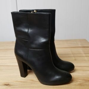 Banana Republic Lissy mid-calf leather bootie